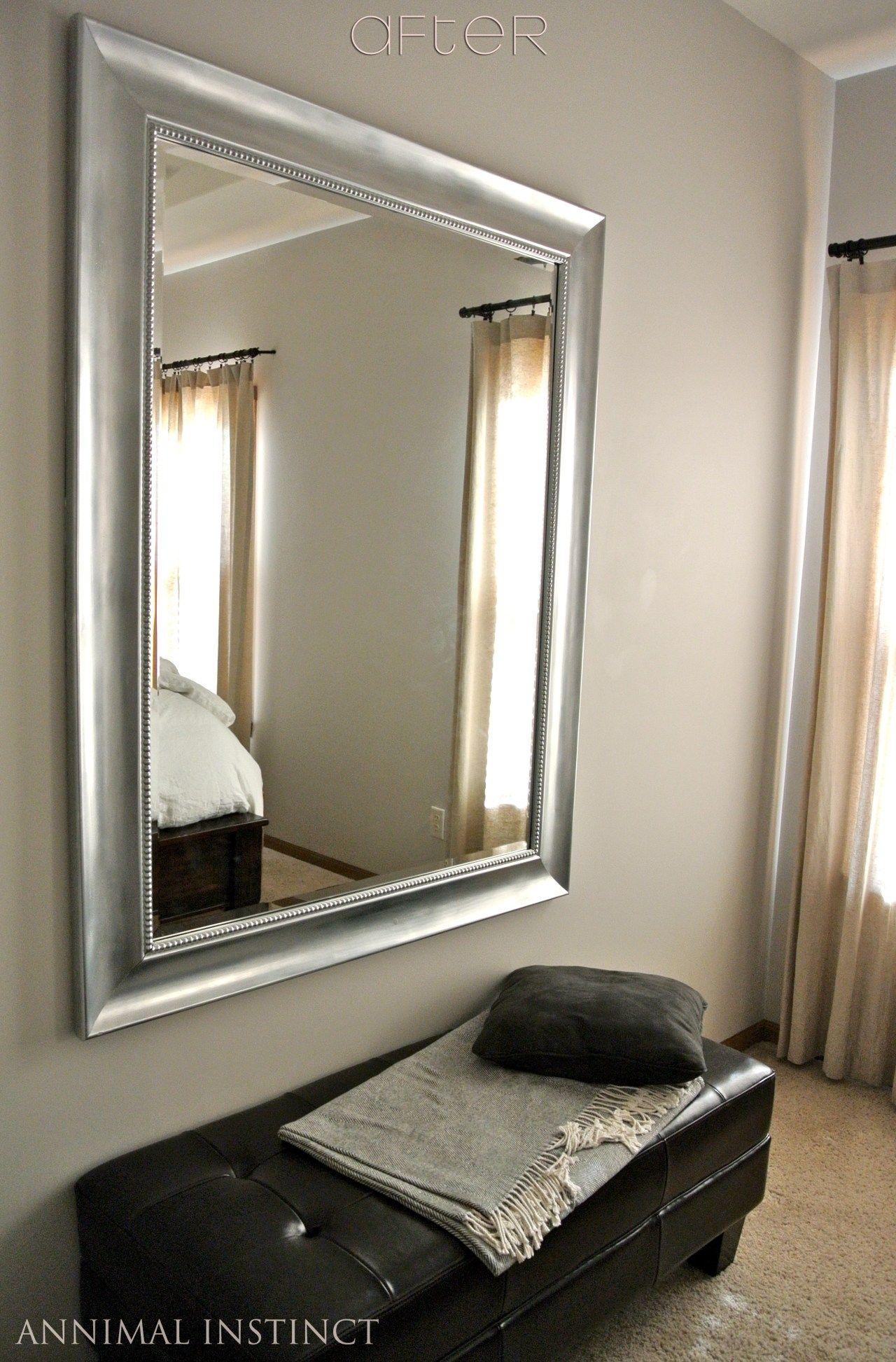 mirrorafter Restoration hardware mirror, Painting mirror