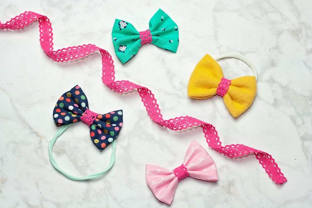 Quick and Easy Hair Bow Tutorial - Crazy Little Projects