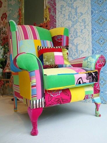 Funky arm chair