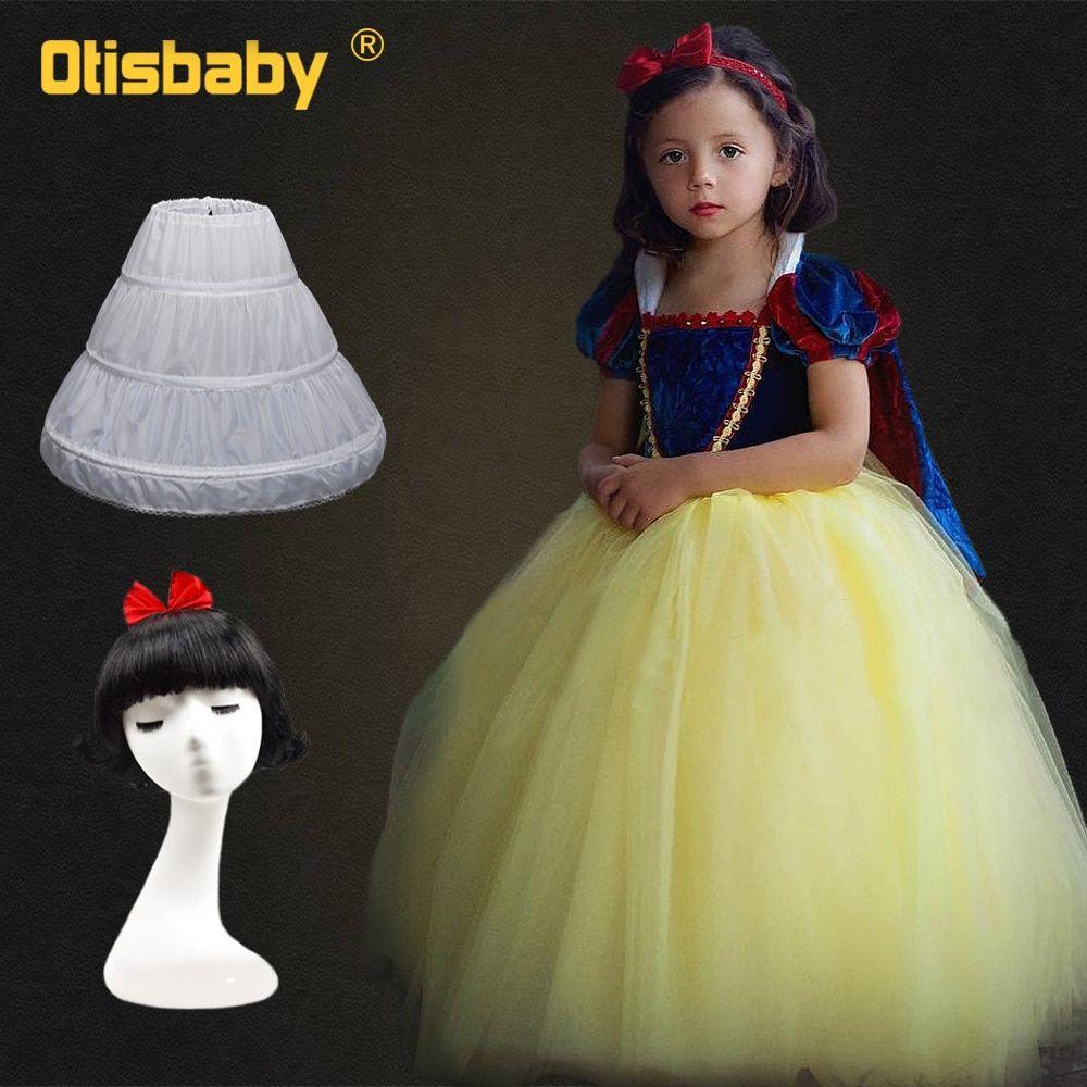Girls Snow White Princess Dresses Kids Girls Halloween Party
