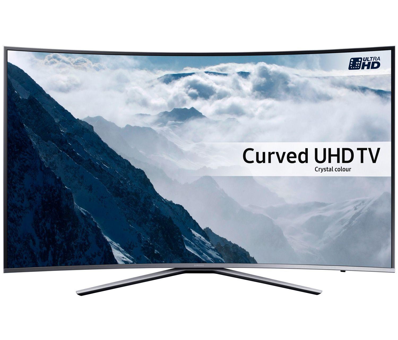 SAMSUNG UE43KU6500 43 inch Curved 4K Ultra HD HDR Smart LED TV Freeview HD Freesat HD