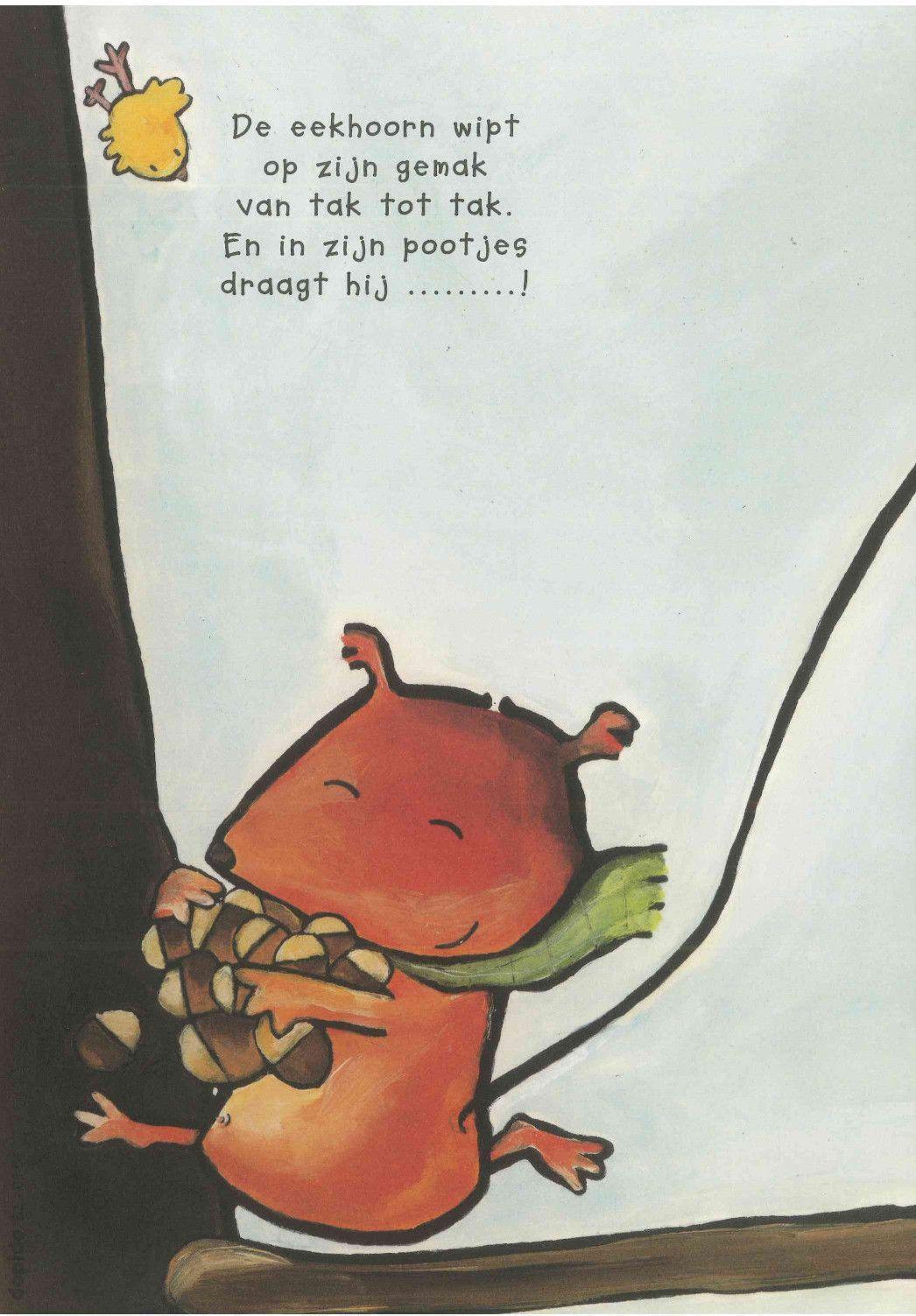Versj Eekhoorn Herfst Bomen Eekhoorn Herfst Halloween