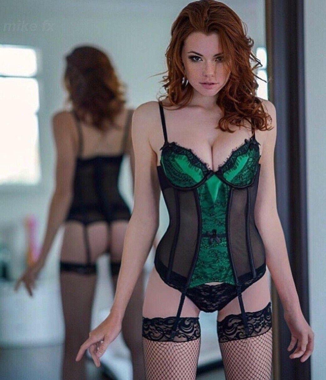 Redhead corset panties — photo 3