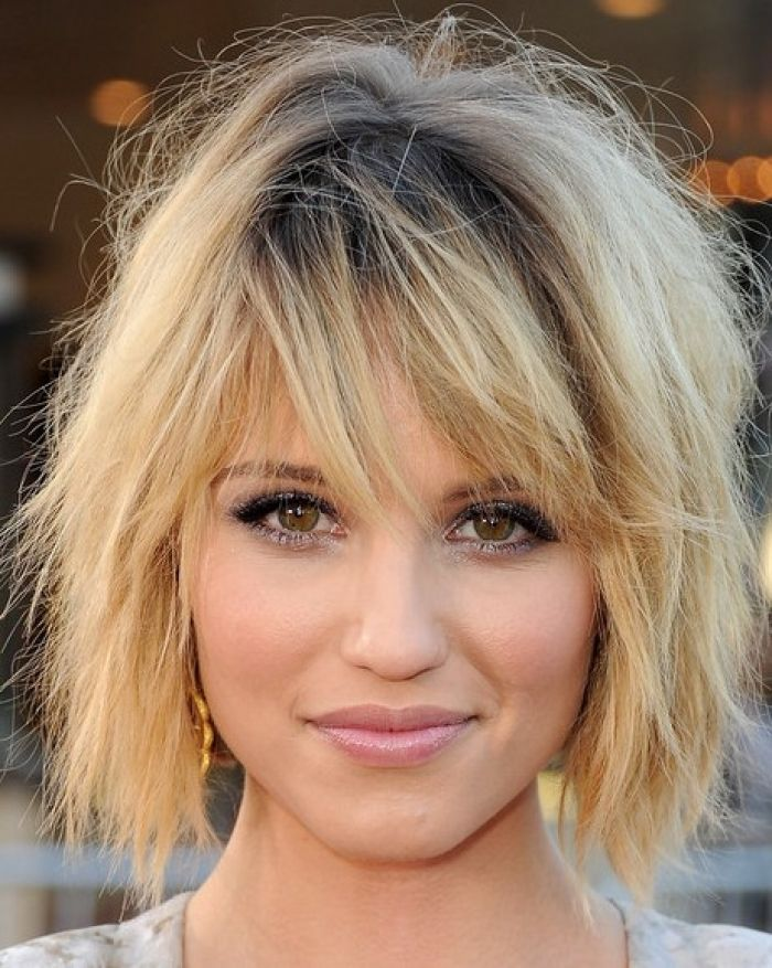 Short Trendy Hairstyles For 2011 Pictures Celebrity Design 462x579 Pixel