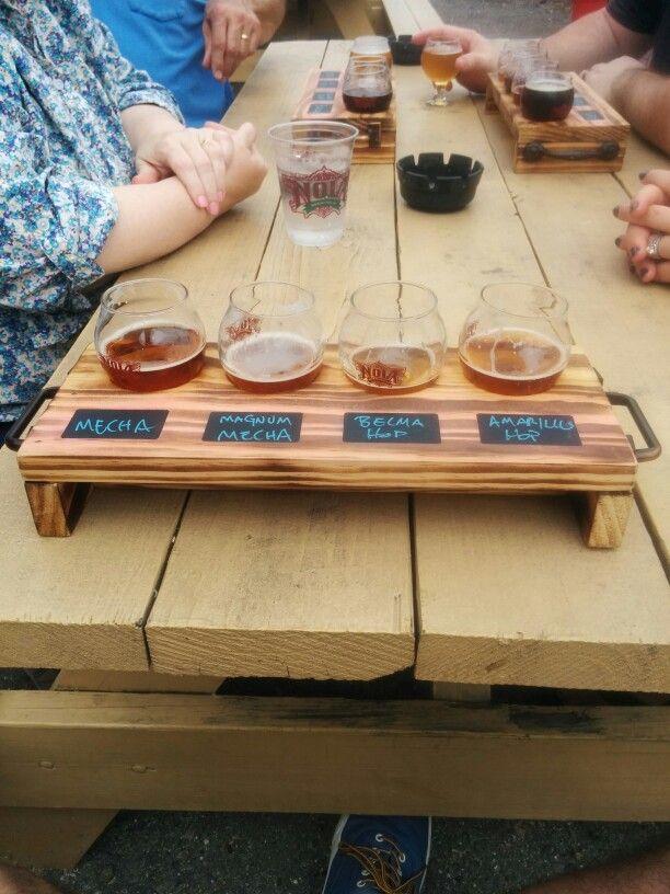 Beer Flight Holder The Manse In 2019 Woodworking Shop