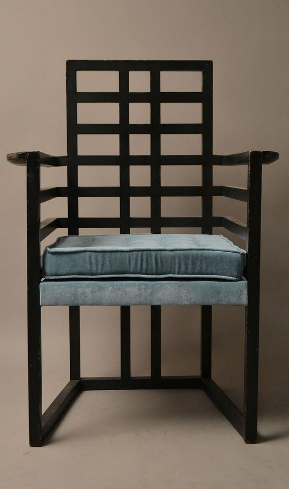 josef hoffmann arml ffel sessel wittmann jugendstil 1908. Black Bedroom Furniture Sets. Home Design Ideas