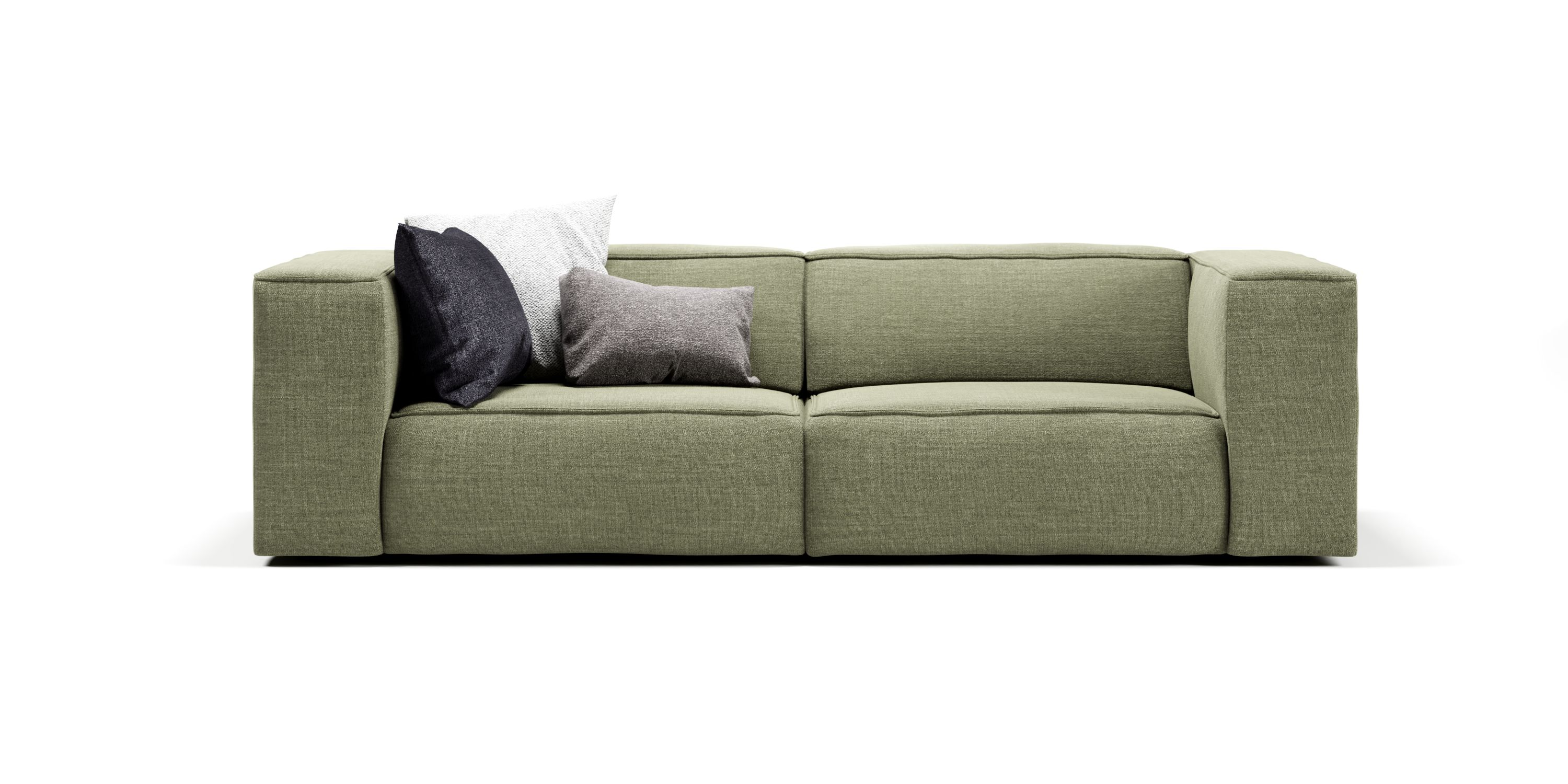 meester sofa 3 seater moss green | sofa design, modulares