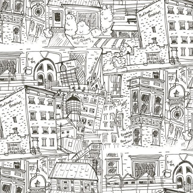 Snapwidget Finished Skillshare Hand Drawn Wallpaper Repeat