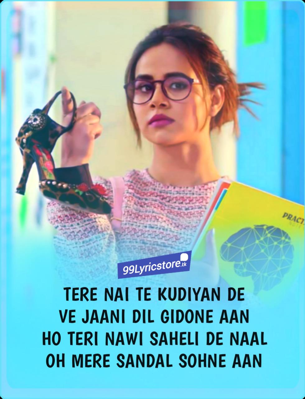Sandal Lyrics Sunanda Sharma Sukhi E Jaani Lyrics Songs Mp3 Song