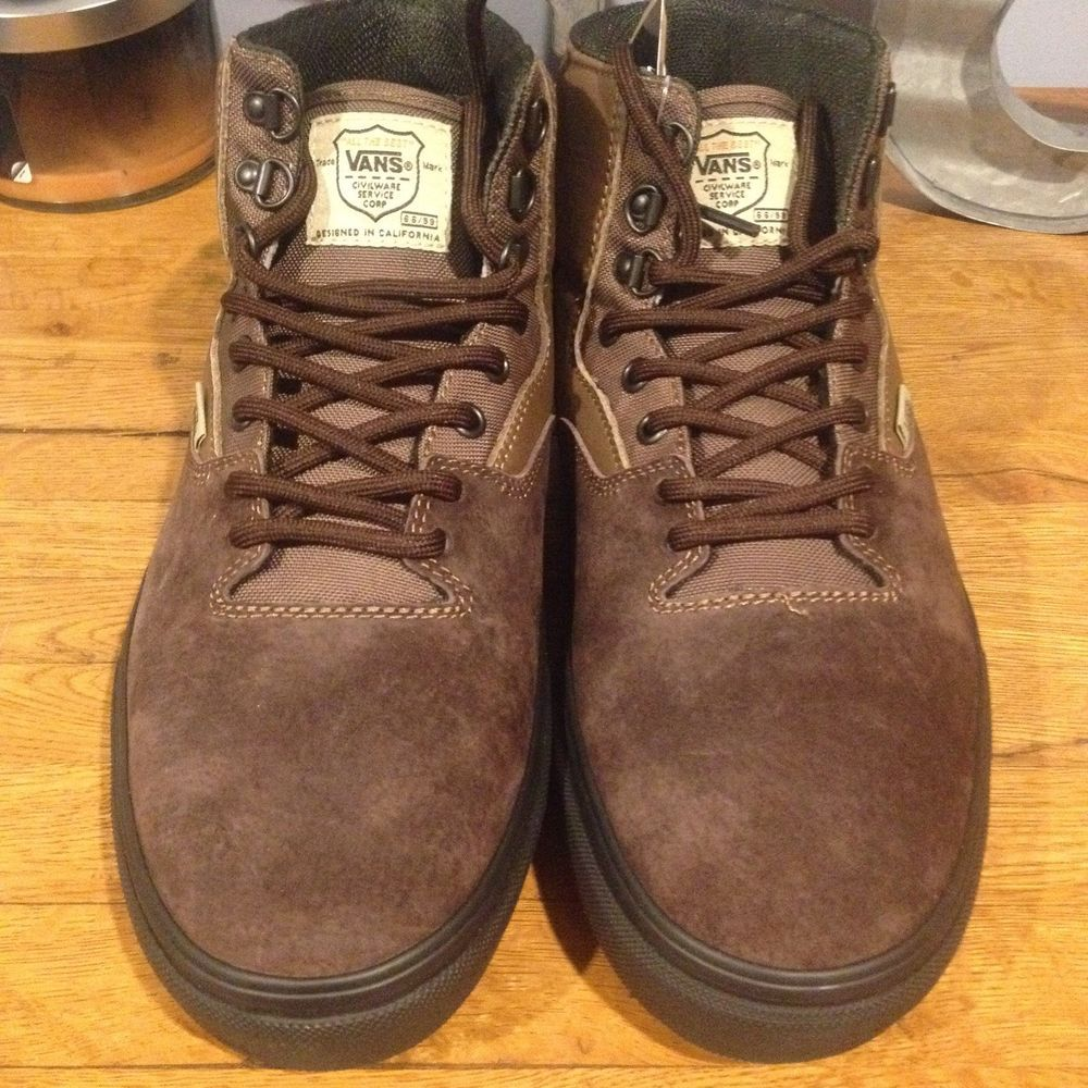 e10a527c5d Vans x Civilware Brown Service Boot Size 12  fashion  clothing  shoes   accessories  unisexclothingshoesaccs  unisexadultshoes (ebay link)