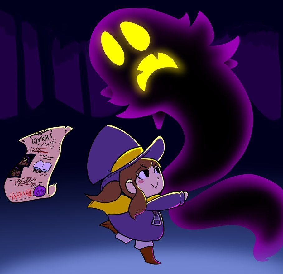 Snatching The Snatcher By Engineerkappa A Hat In Time Hat In Time A Hat In Time Fanart