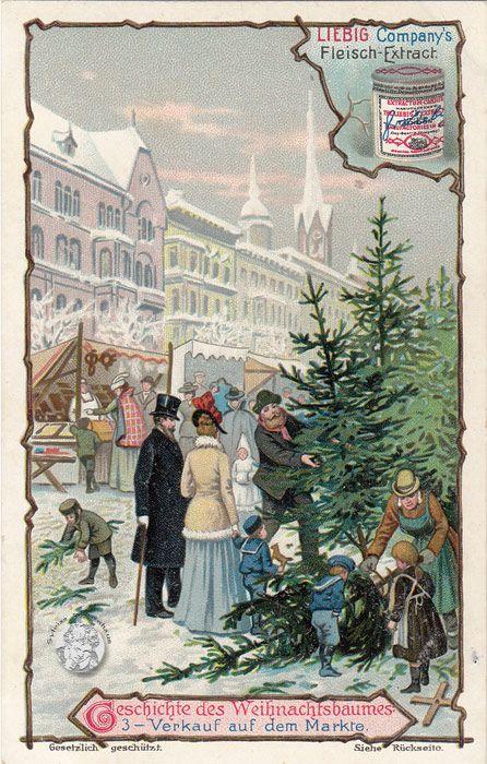 Der Weihnachtsbaum Geschichte.Geschichte Vom Weihnachtsbaum Serie 499 656 1901 Liebig Extract