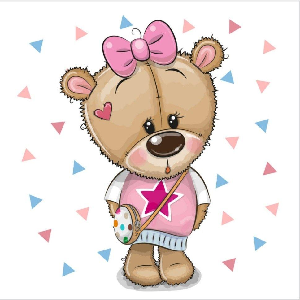 Pin By Gladys Portlllo On Tatty Teddy Molti Altri Cute Bear Drawings Teddy Bear Clipart Teddy Bear Girl