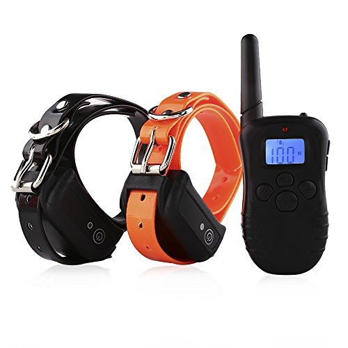 Pedy Waterproof And Rechargeable 330 Yards Remote Dog Sho Http Www Amazon Com Dp B016cv1oeg Ref Cm Sw R P Dog Training Collar Training Collar Dog Training