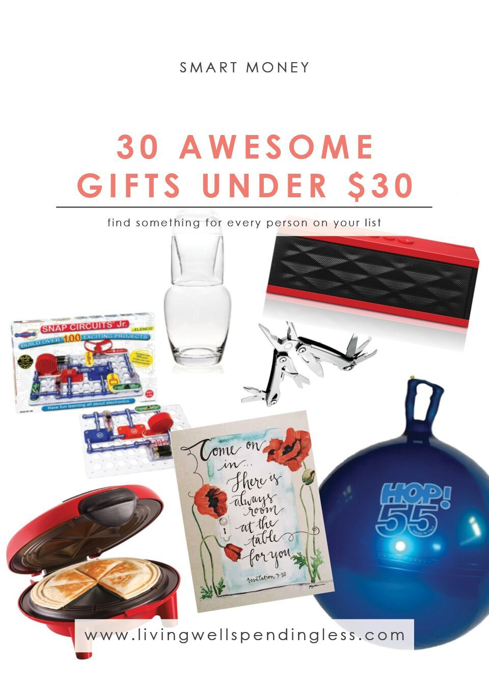 30 awesome gifts under 30 money christmas holidays special occasions money saving tips gift ideas under 30 cheap gift ideas