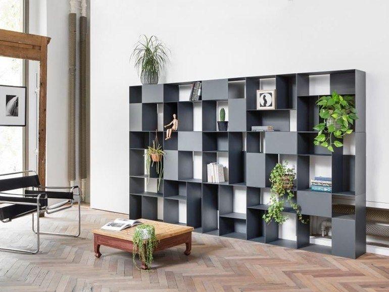 Libreria Metallo Modulare.Libreria Modulare In Metallo B 302 By Mara Design Bicube