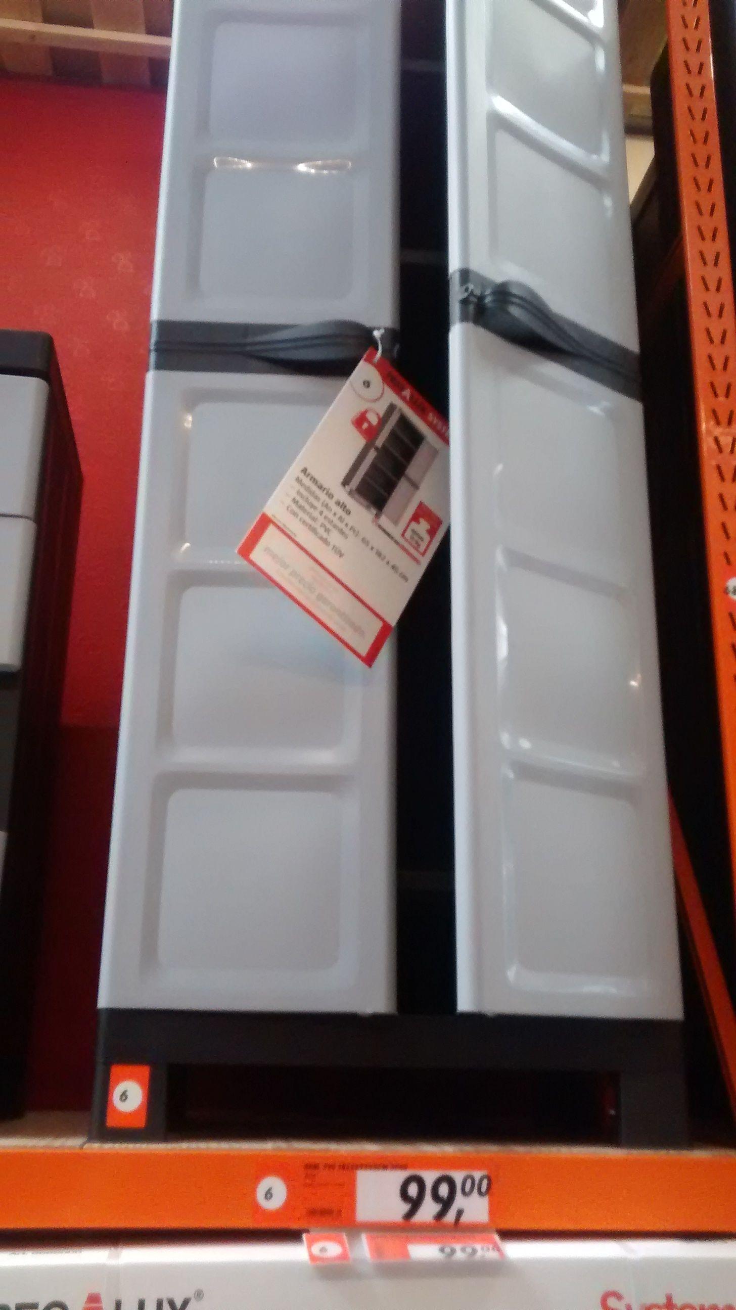Bauhaus Armario De Pvc 182x65x45 99 Pensando En Tener Todo