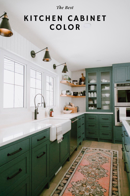 Dark Green Kitchen Color Schemes