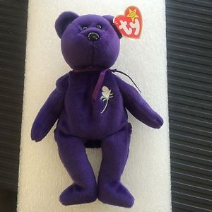 Ebay Item  Rare Princess Diana Ty Beanie Baby in Mint Condition!  410  DISCONTINUED 613e10c4865