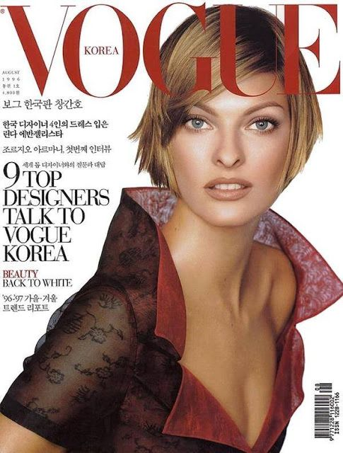 Fashion Model @ Linda Evangelista - Vogue Korea, July 2015
