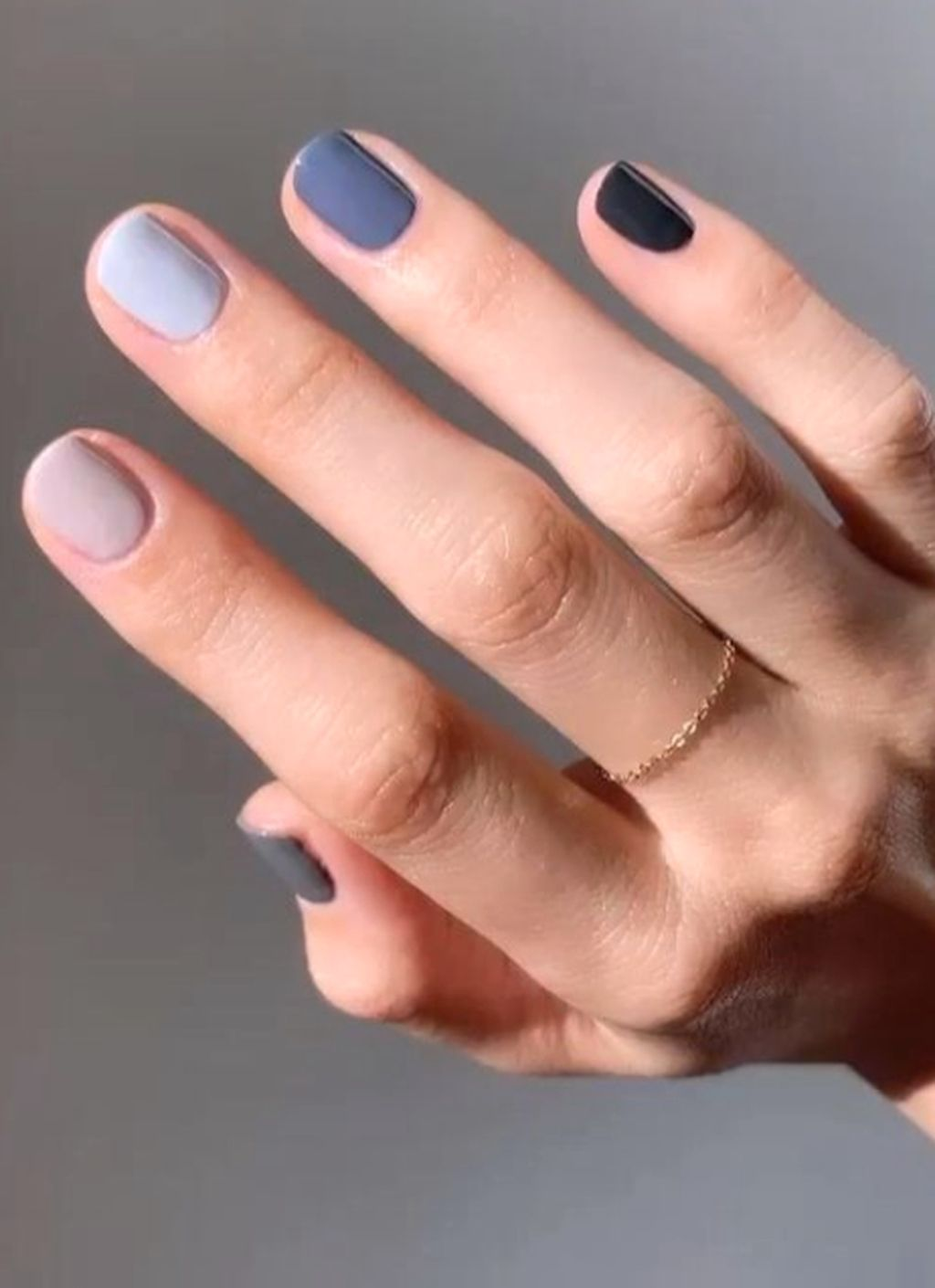 50 Popular Nail Colors Ideas This Fall To Try Asap Multicolored Nails Popular Nail Colors Trendy Nails