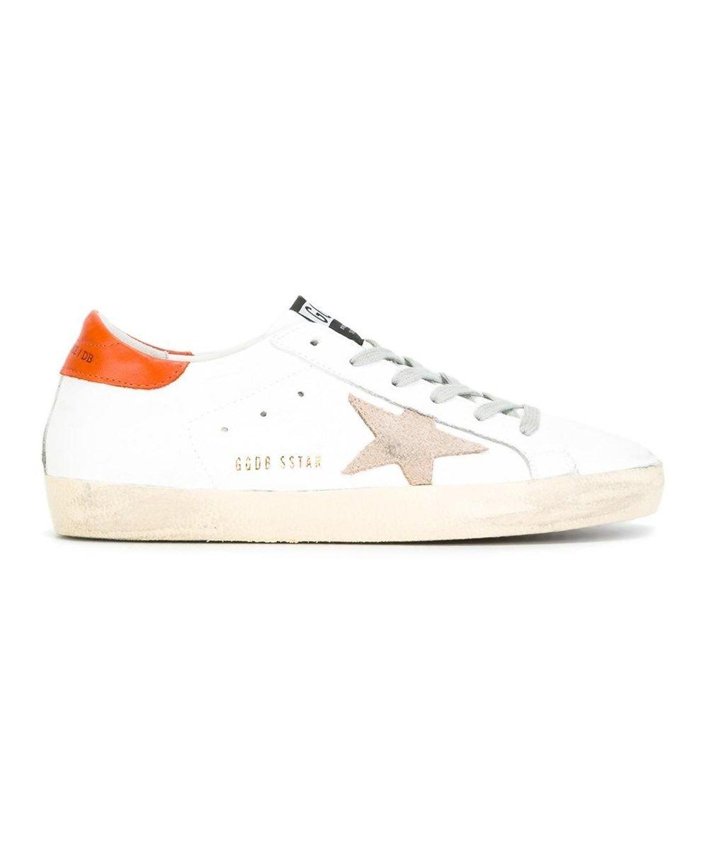 Golden Goose Women's Orange/white