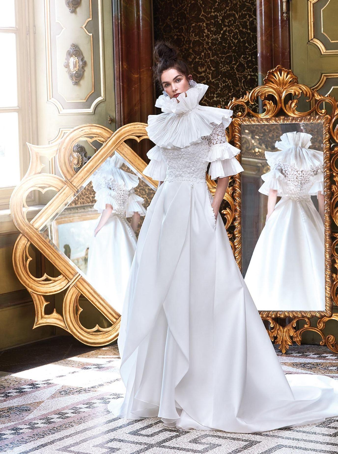 Brautkleider Elisabeth Polignano 2018: eleganz und kreativität