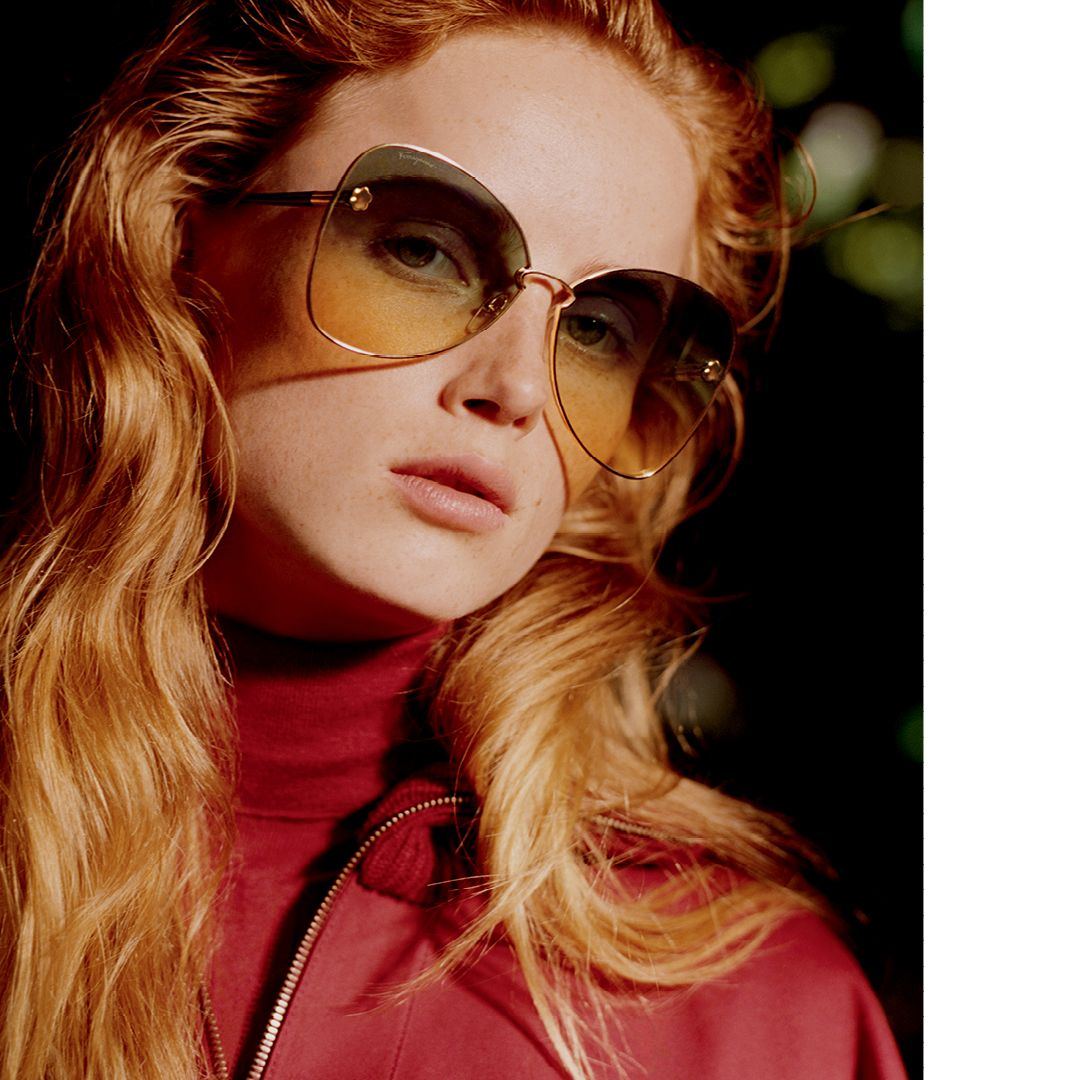 This Ferragamo Eyewear Style Sf184s Won The Fashion Trend Sunglasses Category This Glamorous B Sunglasses Women Designer Trending Sunglasses Sunglasses