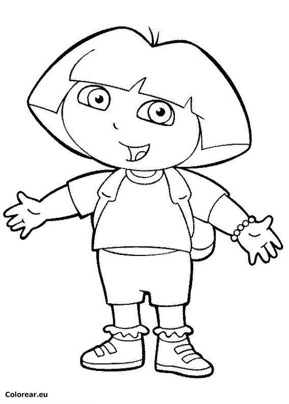 dibujos para colorear de Dora - Buscar con Google  cakes ...