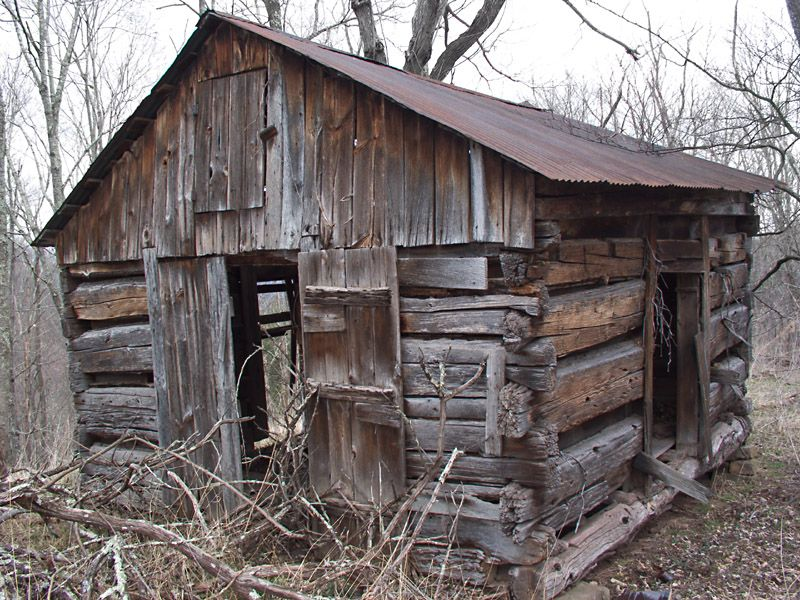 Old Cabin In The Woods | ... Sheds And Other Buildings West Virginia U003e