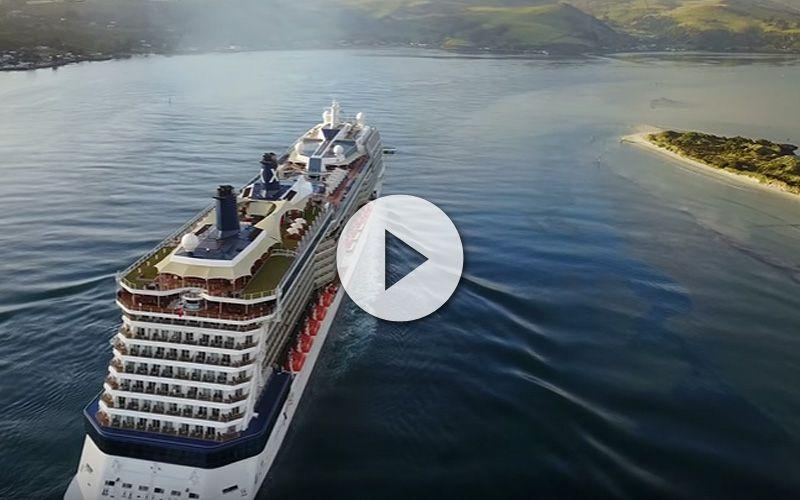 Hasta 4 barcos de cruceros grabados desde drone y cámaras de alta definición 4K podemos ver en este sorprendente vídeo. No te lo pierdas aquí.
