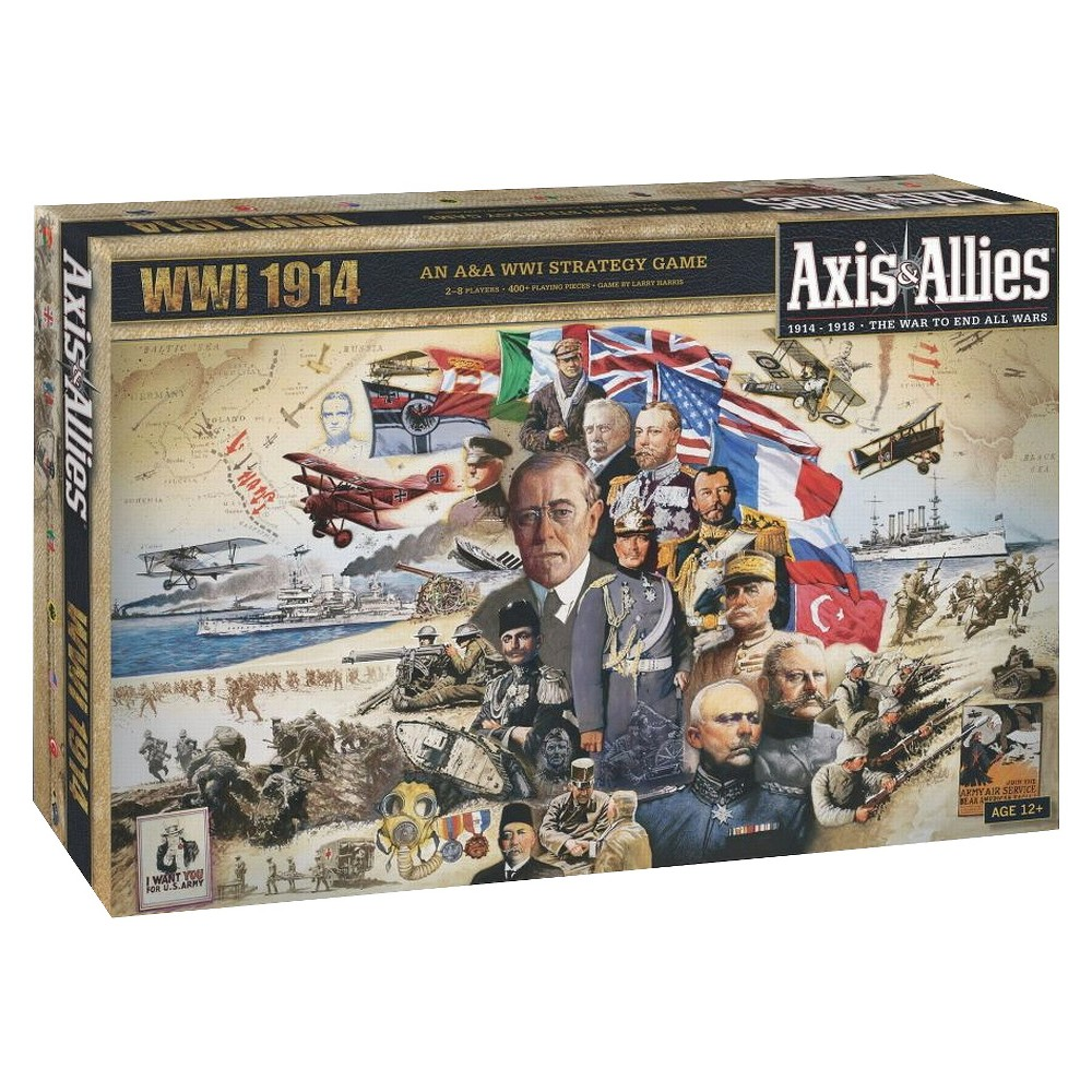 Axis & Allies WWI 1914 Strategy Board Game Board games