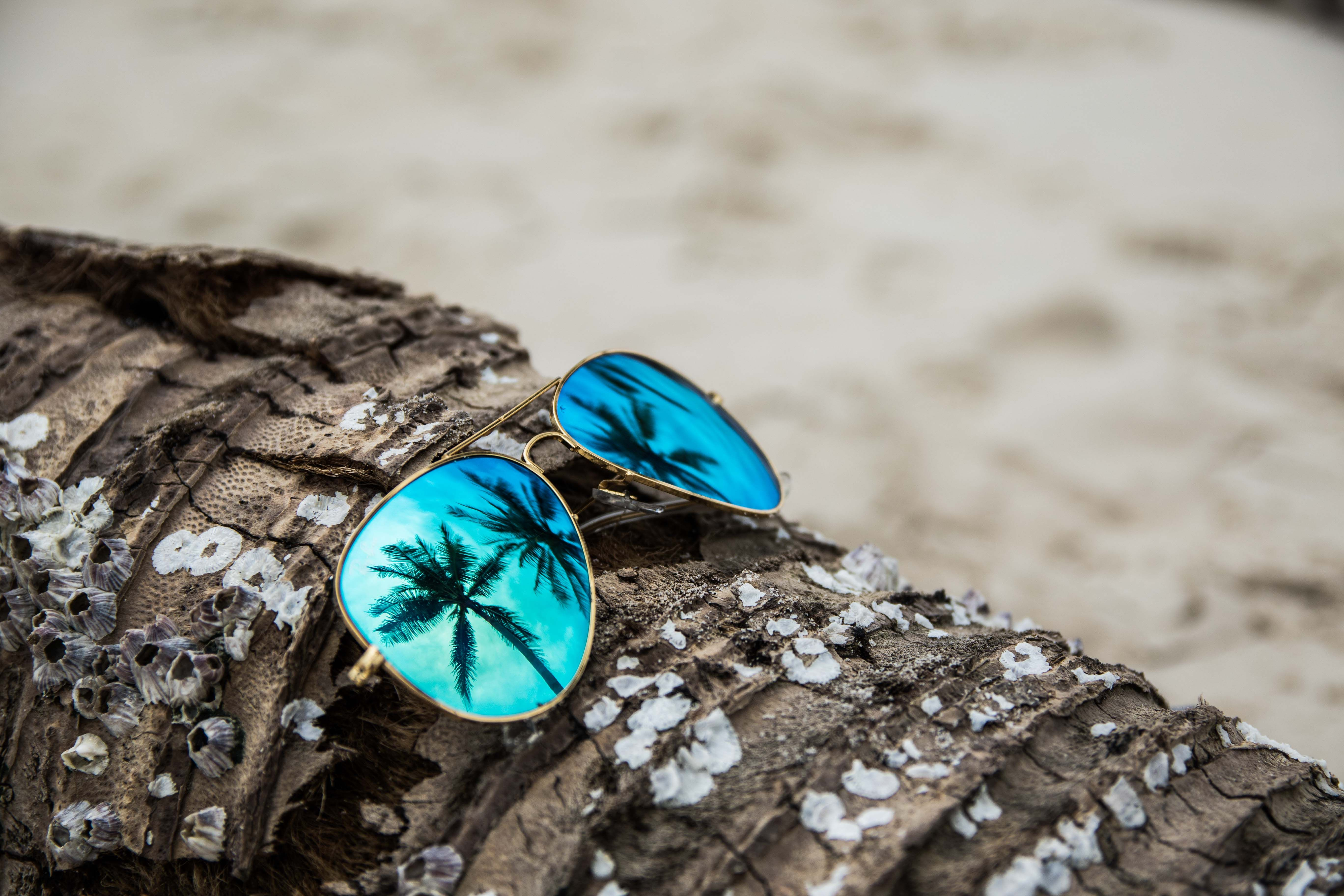 ray ban summer beach photography