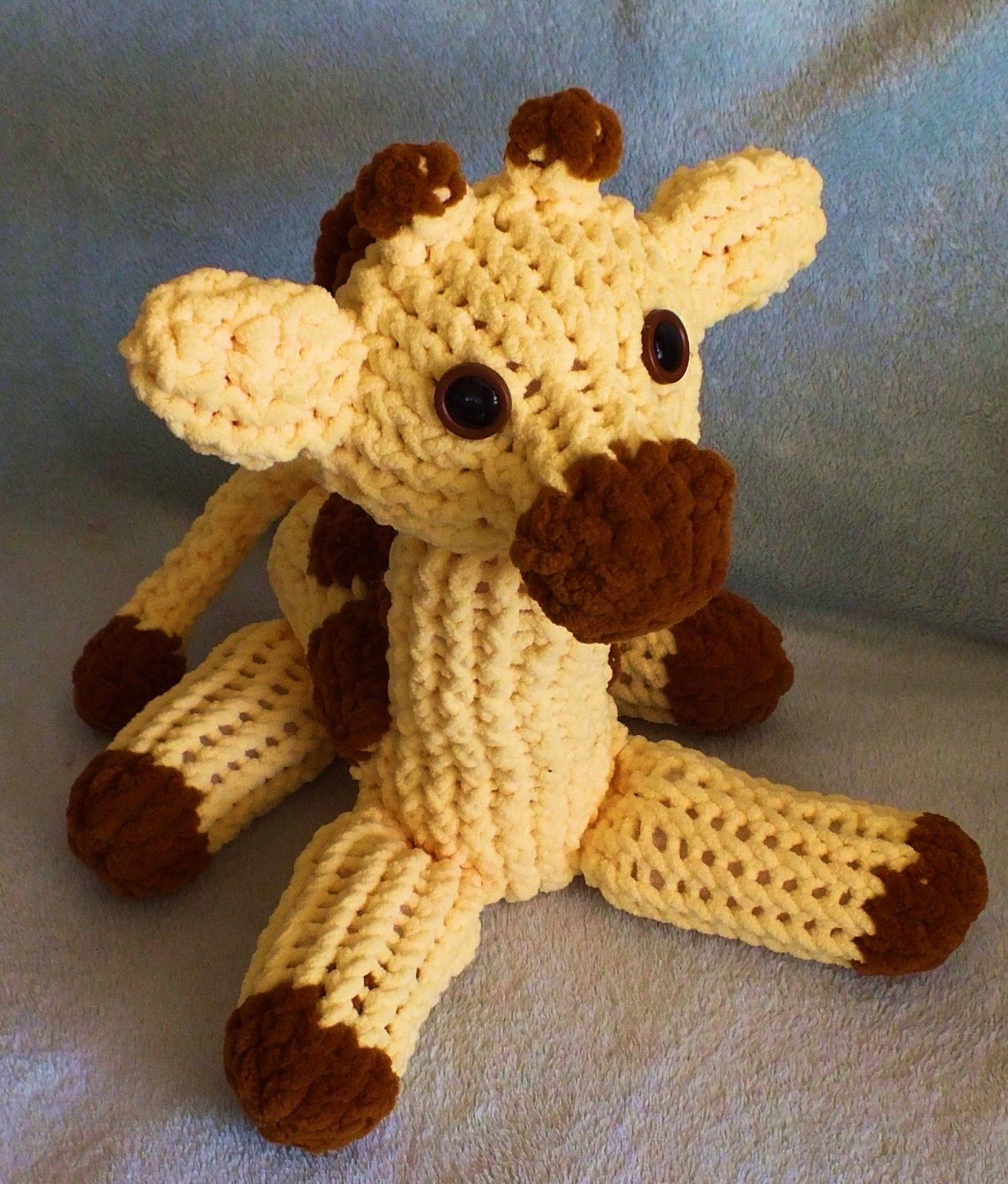 The Loom Muse Creations and Ideas: How to Loom Knit a Giraffe ...