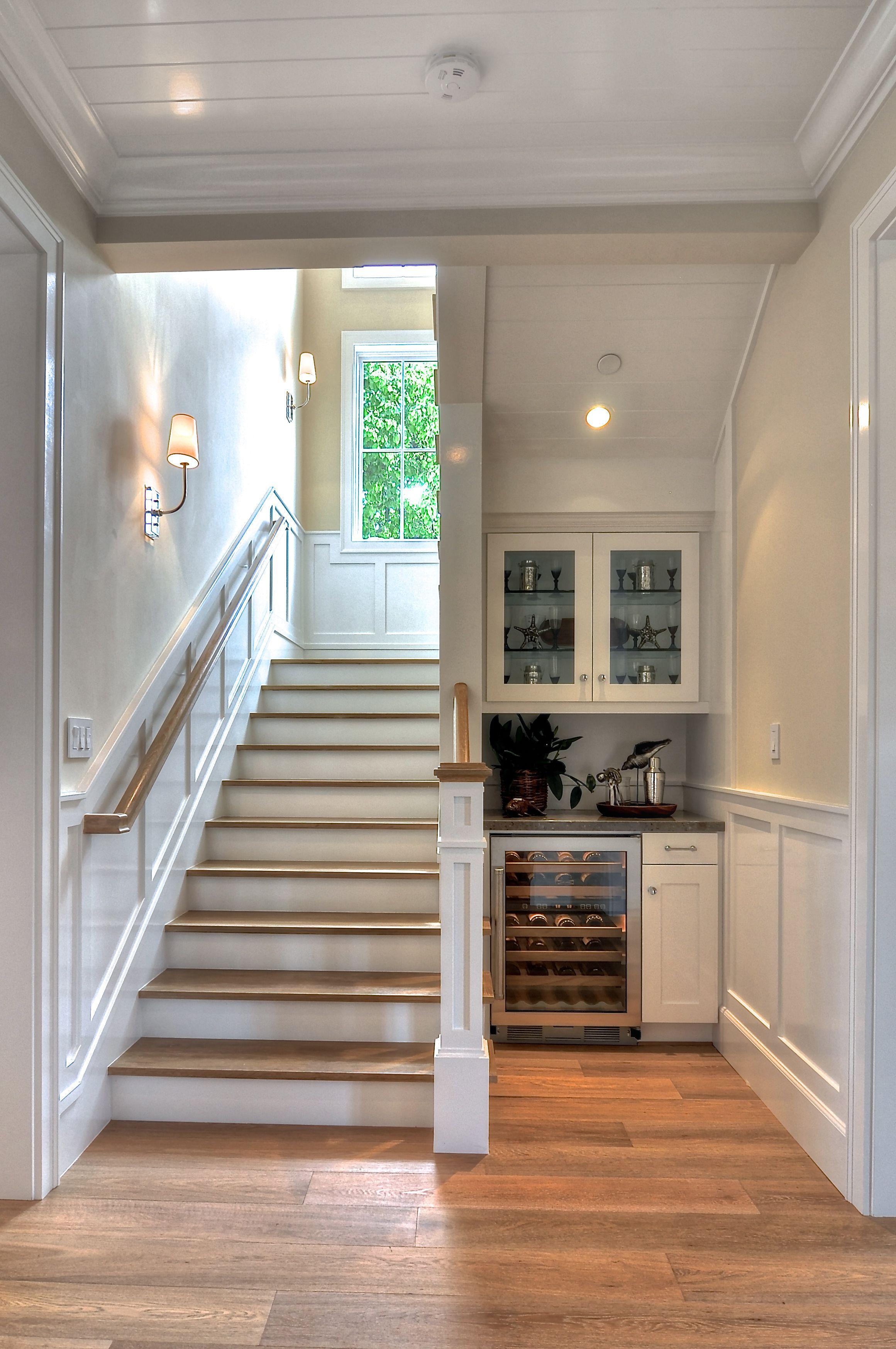 Lighting Basement Washroom Stairs: Www.detailsadesignfirm.com White Finish Carpentry Is