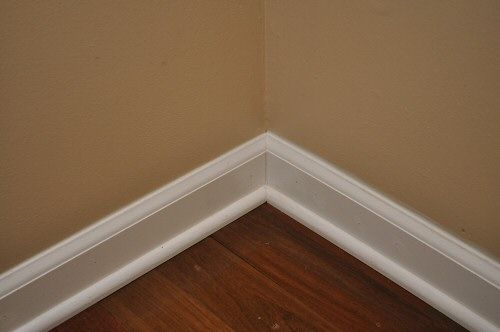 Install Baseboard And Shoe Molding