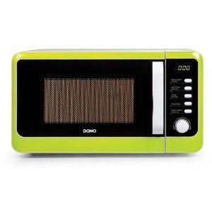 Domo Kombi Mikrowelle 800 Watt Mit Grill 1000 Watt 20 Liter Grun