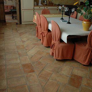 antique reclaimed terracotta floor tiles
