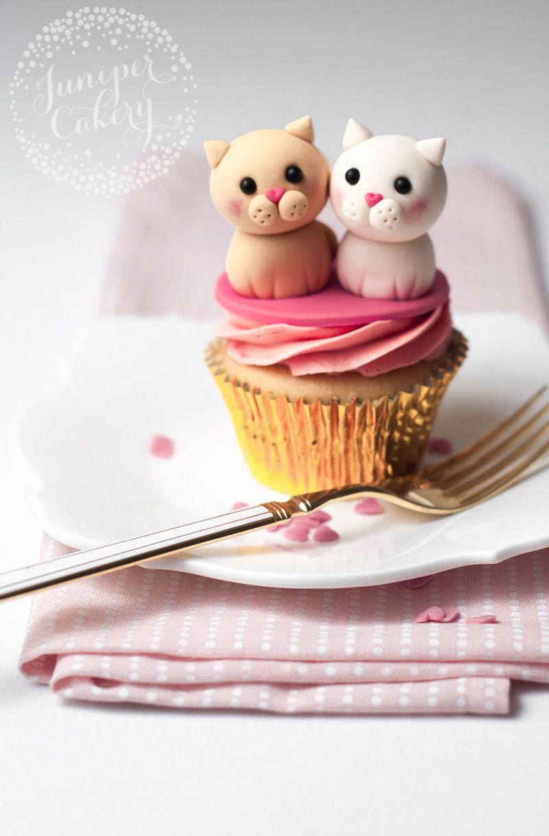 The Cutest Cat Cupcakes