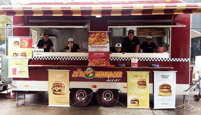 Zé do Hamburger lança food truck retrô em SP | Universo Retrô