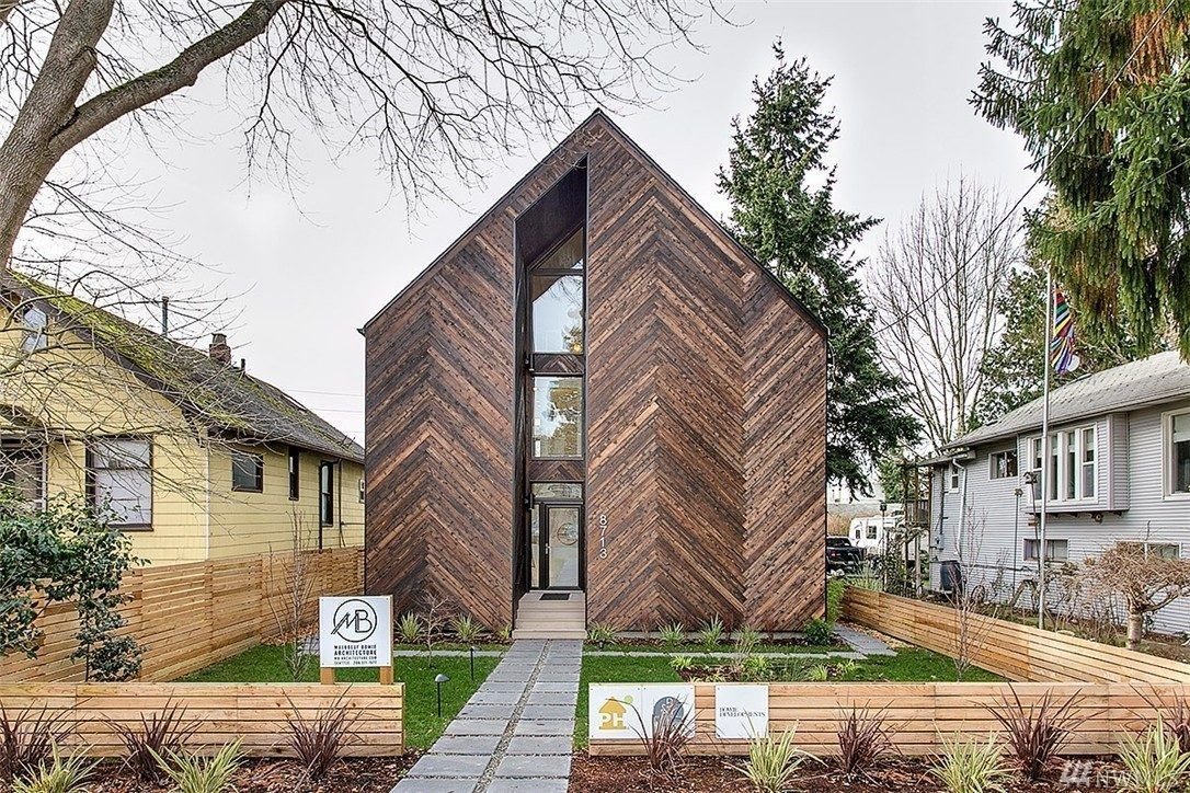 Don T Be Too Passive 1 05m Palatine Passive Available Now Passive House Seattle Homes Architecture Exterior
