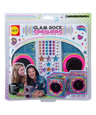 Loving this Glam Rock Speaker Set on #zulily! #zulilyfinds