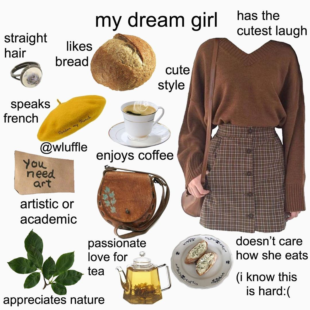 Dream girl qualities