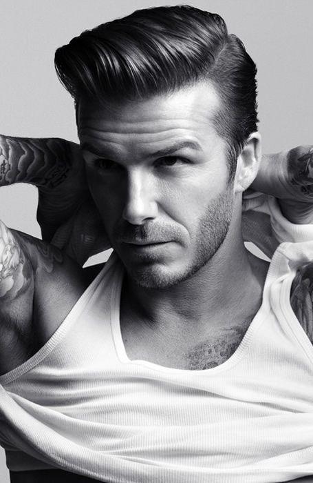 David Beckham Hair Mens Hair Pinterest Włosy Krótkie Włosy