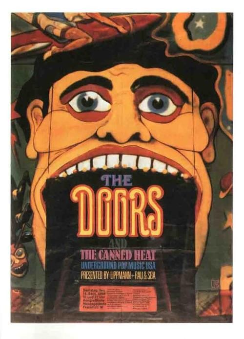 A Doors concert poster..with Canned Heat Opening, my sister found this in her stuff when she moved last year, and uhu gave it to ME!!, I love you sis!