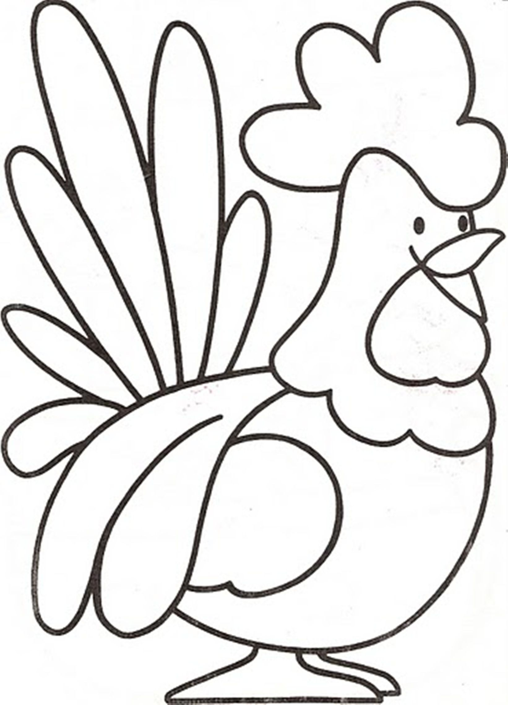 animal download and print preschool farm animal coloring pages - Animal Coloring Pages For Preschoolers