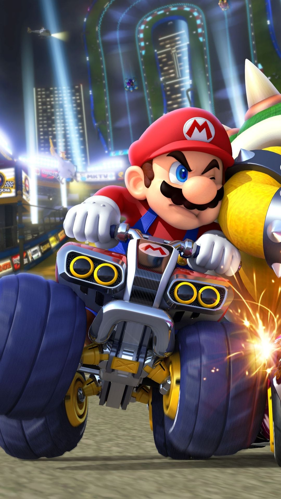 Mario Fighter Race Car In Mario Kart Desenhos Do Mario Desenho Super Mario Personagens De Videogame