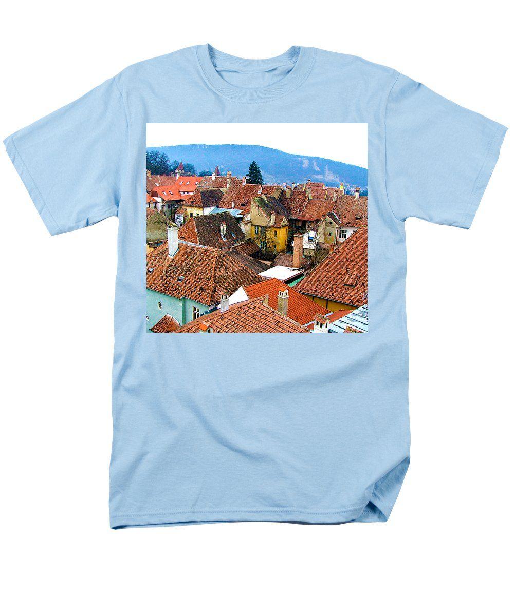 #Transylvania #Rooftops #TShirt by Judi Saunders