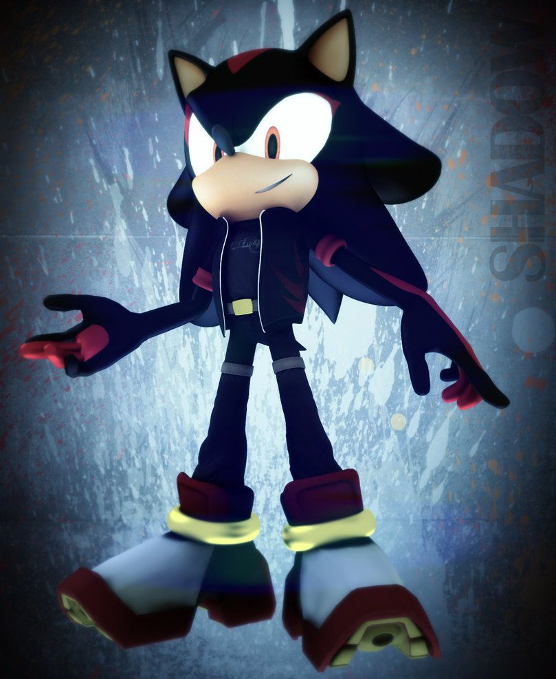 Shadow by ICEMBL on DeviantArt & Shadow by ICEMBL on DeviantArt | Sonic | Pinterest | Hedgehogs ...