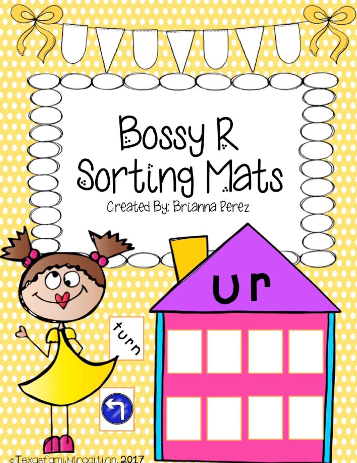 Bossy R Sorting Mats